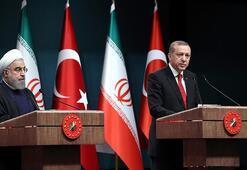 Son dakika Cumhurbaşkanı Erdoğan, Hasan Ruhani ile görüştü