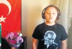 Çocuk korosundan konser...