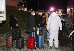 BAEden getirilen Türk vatandaşları Boludaki öğrenci yurduna yerleştirildi