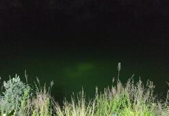 Otomobil baraj göletine düştü Sürücü kurtarılamadı