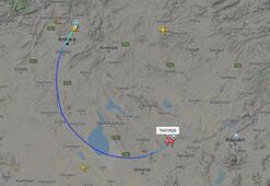 Son dakika: Şu an Türkiye semaları THYden 23 Nisanın 100. yılında özel TK1920 uçuşu