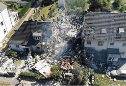 Almanyada bir evde patlama: 1 ölü, 4 yaralı