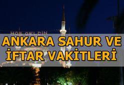 Ankarada sahura saat kaçta kalkılacak 2020 Ramazan İmsakiyesi
