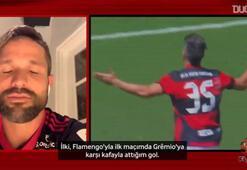 Diego Ribas, Flamengo formasıyla attığı en özel iki golü seçti