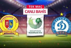 Smolevichi - Dinamo Minsk maçı canlı bahis heyecanı Misli.comda