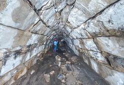 4 asırlık gizli tünelleri şaşkına çeviriyor