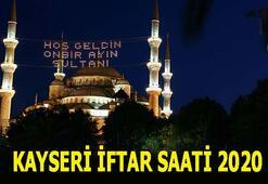 Kayseri sahur vakti 2020 Akşam ezanı kaçta okunuyor İşte Kayseri iftar, sahur, imsak saati ve Ramazan İmsakiyesi...