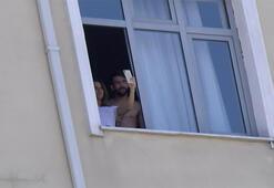Mauricio Isla ve eşi Gala Caldirola karantinayı tamamlayıp evine döndü...