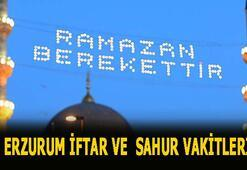 Erzurum iftar vakti 2020 Erzurumda iftar ve sahur saat kaçta İşte 2020 Ramazan İmsakiyesi...