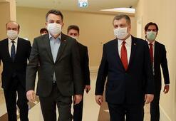 Bakan Koca ve Bakan Pakdemirli, corona virüsü görüştü