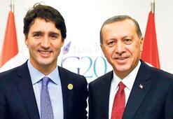 Erdoğan, Trudeau'ya çağrıda bulundu: Ortak çaba sarf edelim