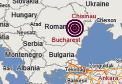 Son dakika   Romanyada 4.7 büyüklüğünde deprem