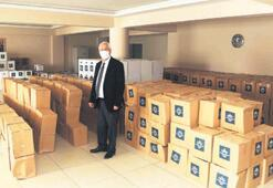 Karabağlar'da beş bin koli hazır