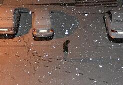 Nisan ayında lapa lapa kar yağdı O ilçemiz beyaza büründü
