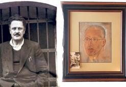 1938 yılında cezaevindeyken yapmıştı... Nâzım'ın Ruşen Eşref portresi açık artırmada