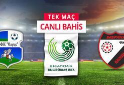 Slutsk-Belshina maçı canlı bahis heyecanı Misli.comda
