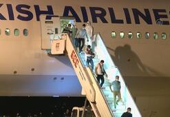 Katardan 162 Türk vatandaşı THY uçağıyla Ankaraya getirildi