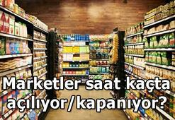 28 Nisan Marketler saat kaçta açılacak/kapanacak BİM, A101, ŞOK, Migros, Carrefour açılış ve kapanış saatleri