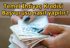 Temel İhtiyaç Kredisi başvuru sonucu sorgulama ekranı Ziraat Bankası, Halkbank, Vakıfbank bireysel temel ihtiyaç kredisi geri ödeme tablosu
