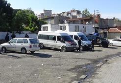 Özel harekat polislerinin katıldığı şafak operasyonu