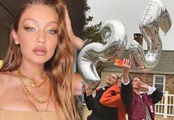 Gigi Hadid yeni yaşını böyle kutladı