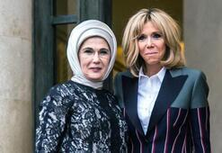 Brigitte Macron, Emine Erdoğana corona virüsle mücadelede dayanışma mesajını iletti
