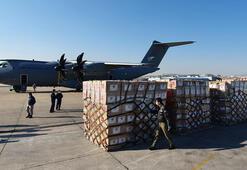 Türkiyeden ABDye yardım Uçak Ankaradan havalandı
