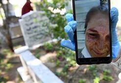Annesini ölüm yıl dönümünde, görüntülü aramayla andı