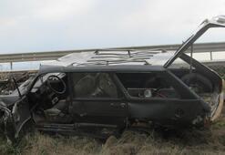 Afyonkarahisar'da feci olay İftara giderken kaza yaptı