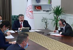 Sağlık Bakanı Fahrettin Koca açıkladı: Corona virüs araştırması için veri tabanı oluşturduk