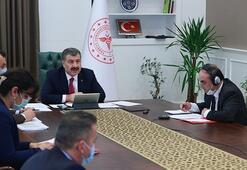 Sağlık Bakanı Koca Türk Konseyi Sağlık Bakanları Toplantısına katıldı