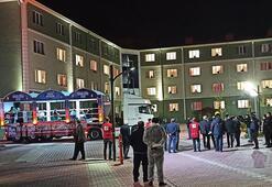 314 kişinin karantina süresi doldu Böyle evlerine gönderildiler