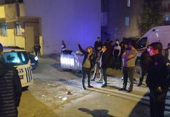Arnavutköyde gasptan yan binanın çatısına atlayarak kurtuldular
