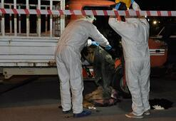 Korkunç olay Kamyonetten ceset çıktı