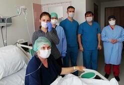 Yoğun bakımda 32 gün kalan koronavirüs hastası: Öldüm, geldim