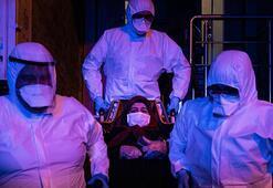 Ambulansla corona virüs mücadelesi