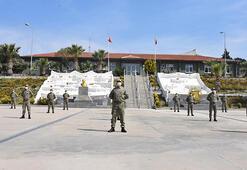 İzmirdeki askeri birliklerde virüs tedbirleri titizlikle uygulanıyor