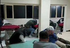 Yaşa dışı bahis baskını  17 kişiye 766 bin lira ceza kesildi