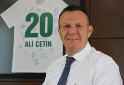 Ali Çetin: Fedakarca çalışmaya devam ediyoruz