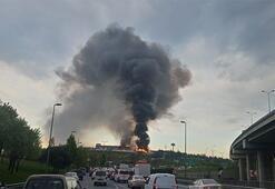 Son dakika | İstanbulda korkutan yangın Her yeri sardı
