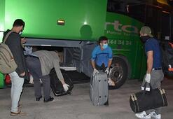 Iraktan getirilen 149 Türk işçi Kütahyada yurda yerleştirildi