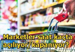 1 Mayıs Cuma marketler saat kaçta kapanacak Sokağa çıkma yasağı süresince market ve bakkallar açık olacak mı