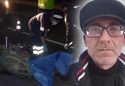 Kamyona arkadan çarpan motosikletli hayatını kaybetti