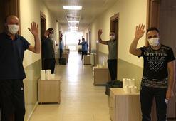 Kars'ta karantina altındaki misafirlere özel ilgi