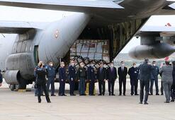 Son dakika... Türkiyeden ABDye ikinci yardım Uçak Ankaradan hareket etti