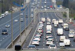 Yasağa bir gün kala trafik yüzde 17ye çıktı