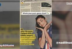 Neymardan #EvdeKal mesajı