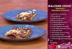 Ispanaklı makarna dolması nasıl yapılır Gelinim Mutfakta ıspanaklı makarna dolması tarifi ve malzemeleri...