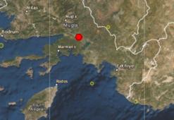 Muğla 4.5 büyüklüğündeki depremle sallandı