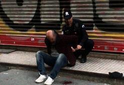 İstanbulda küçük çocuğu taciz ettiği iddia edilen şahıs linç edilmek istendi